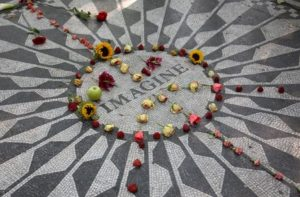 new york in 5 Tagen - manhattan john lennon memorial central park strawberry fields