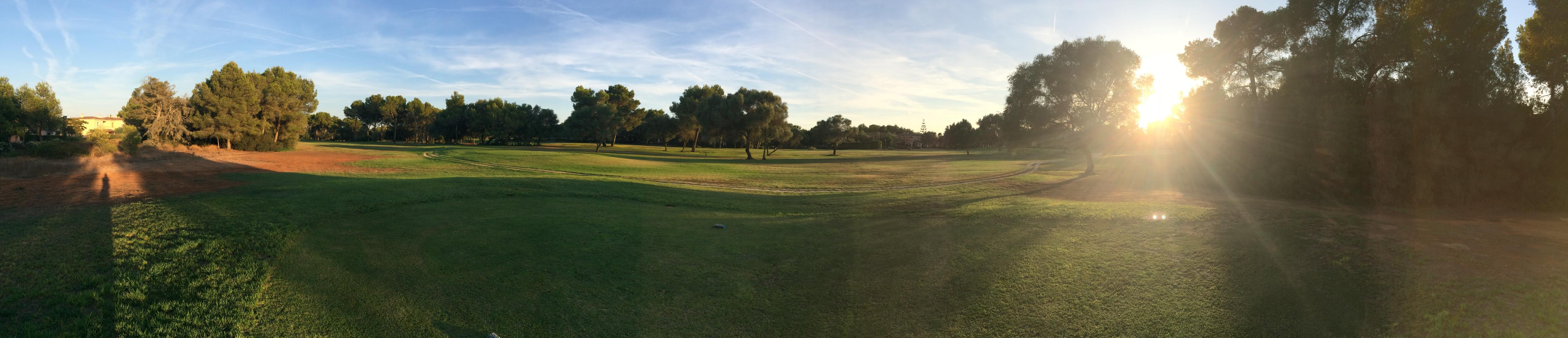 Marriott Son Antem Blick auf den Golfplatz