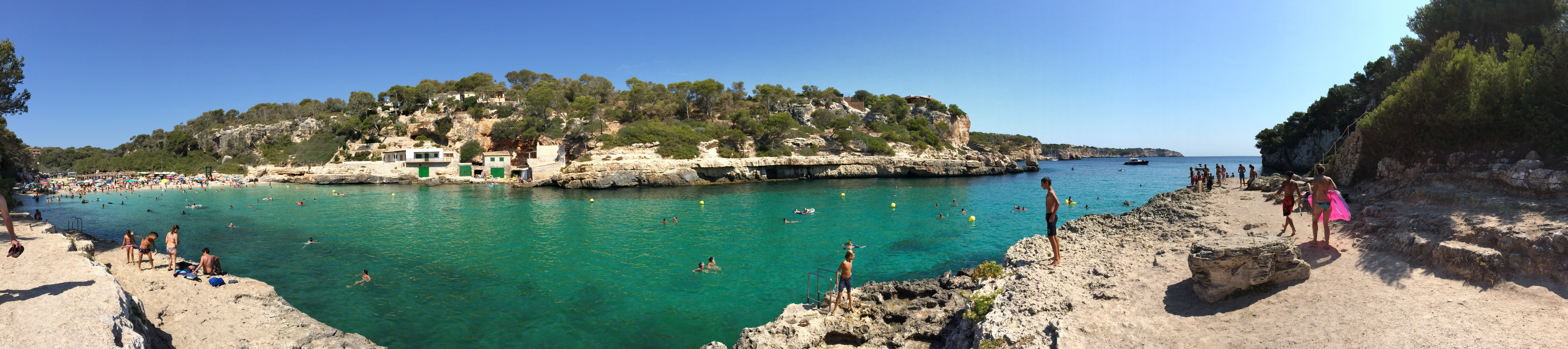 Cala Llombards im August 2016