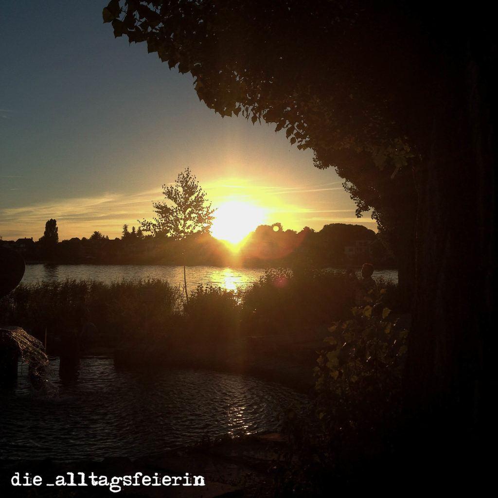 Sonnenuntergang übern Bodensee